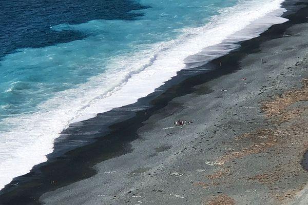 Début de noyade à Nonza