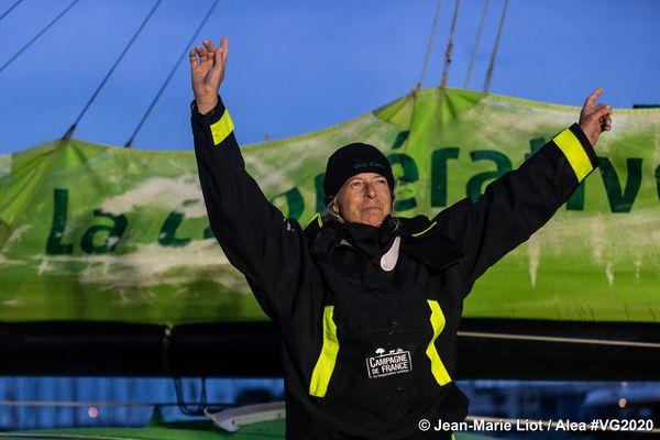 Miranda Merron est arrivée en 22ème position après 101 jour de course.