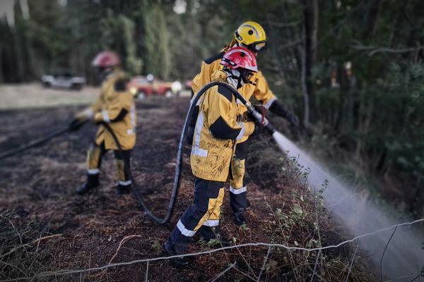 Un feu s'est déclaré dans le secteur de Mandelieu-la-Napoule ce dimanche 19 septembre après qu'un voiture a pris feu.