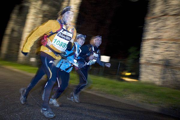 Le trail nocturne a le vent en poupe. Après Saint-Etienne-Lyon, Besançon lance sa 2e édition
