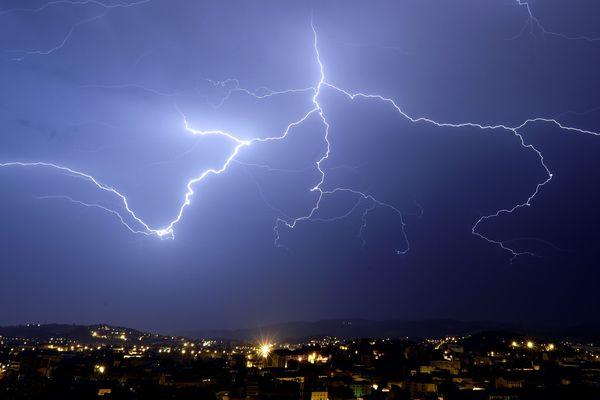 Des orages très violents