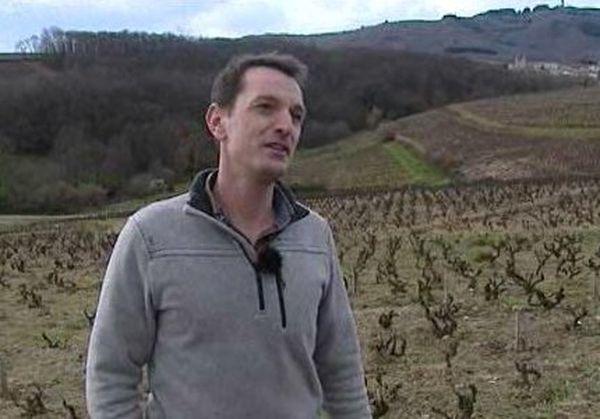 Julien Sunier - Domaine des Noisetiers, sacré « Découverte de l'année » - Janvier 2015