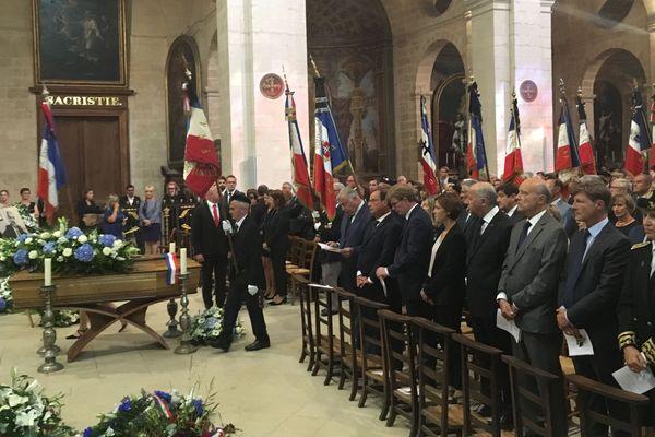 Les obsèques de Philippe Madrelle se tiennent ce lundi 2 septembre en l'église Notre-Dame à Bordeaux