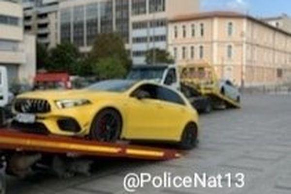 Huit véhicules ont été placés en fourrière par la sureté départementale.