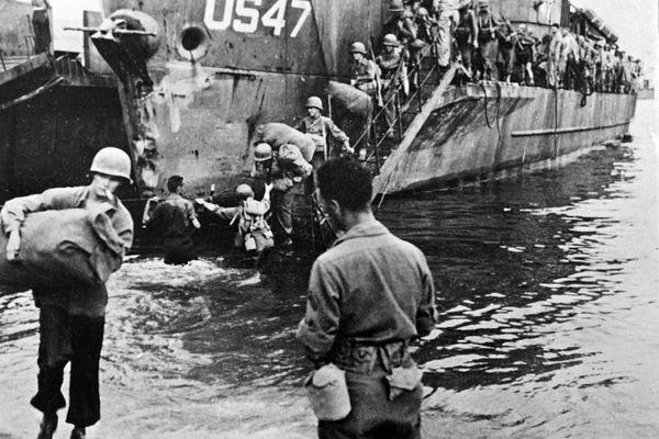 Les troupes alliées ont débarqué sur les plages du Sud-Est de la France le 15 août 1944.