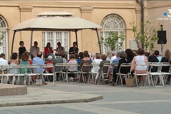Les rencontres littéraires méditerranéennes vivent leur 11e édition à Ajaccio. Cette année, elles réunissent treize auteurs originaires de sept pays.