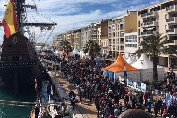 Escale à Sète: la foule ce samedi