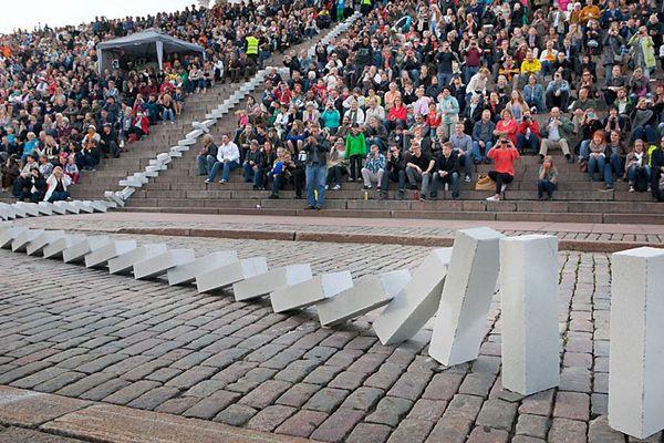 Dominoes à Helsinki