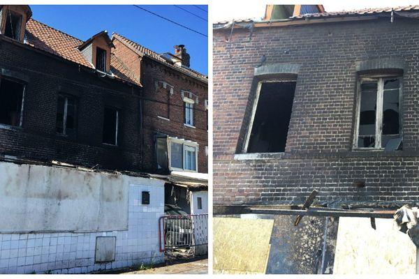 Le feu s'est déclaré  dans un maison du quartier du Mont Gargan vers 22h ce vendredi 29 mai