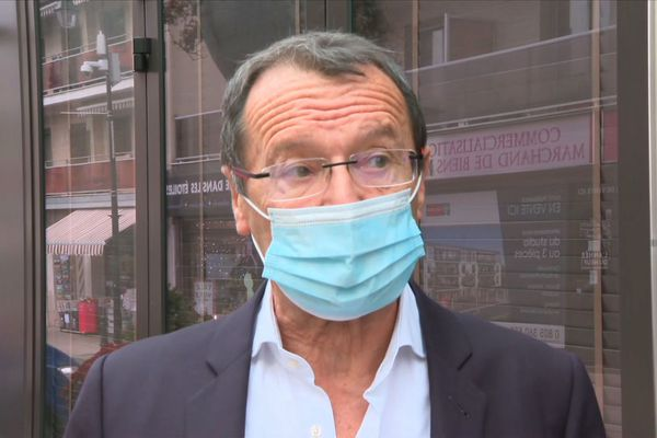 Christian Demuynck, le maire LR de Neuilly-Plaisance.