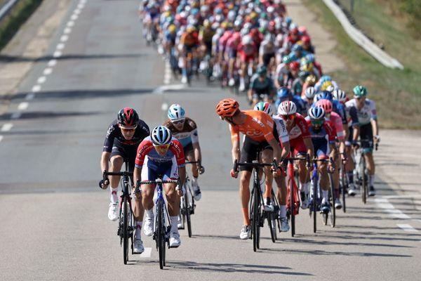 Le peloton du Tour de France en septembre 2020