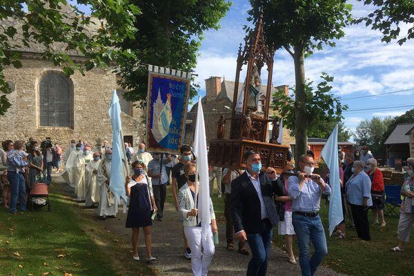 Le Pardon du 15 août célébré au sanctuaire marial de Querrien : seul lieu en Bretagne où la Vierge Marie s'est révélée en 1652
