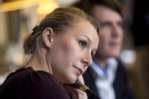 Marion Maréchal-Le Pen a remercié ce mercredi des cadres FN qui lui avaient apporté leur soutien.