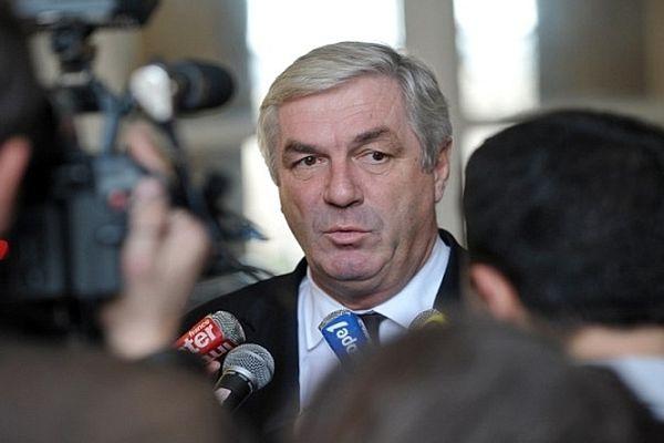 François Sauvadet le 21 décembre 2010 à l'issue d'une conférence de presse à l'Assemblée Nationale à Paris