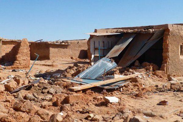 Le camp de Tindouf est très touché.