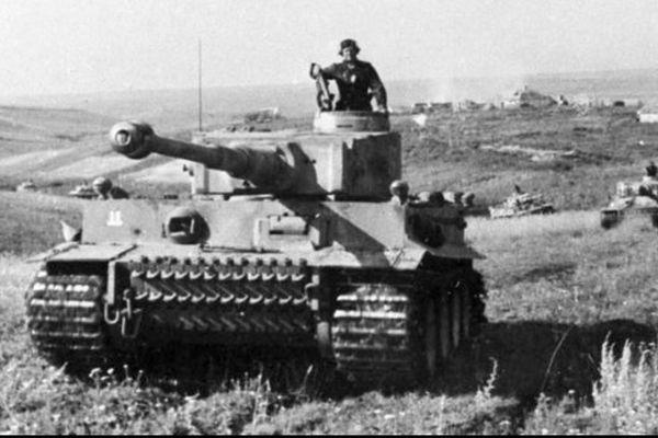 Les waffen-SS de la division Das Reich