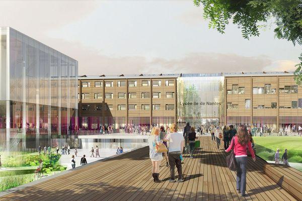 Le lycée international de l'Île de Nantes portera le nom de Nelson Mandela
