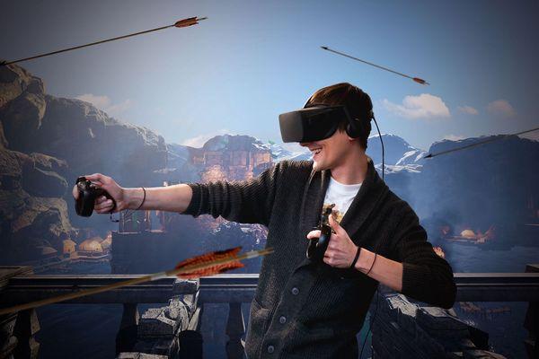 La salle de réalité virtuelle permet de s'immerger dans d'autres époques ou dans d'autres pays sans bouger de Clermont