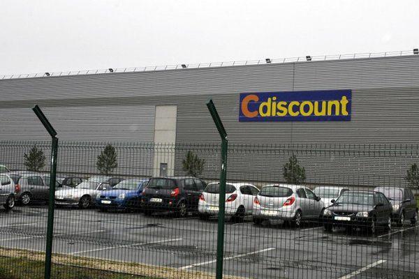 Le magasin CDiscount de Cestas en Gironde.