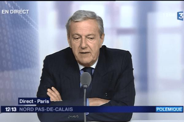 Daniel Bilalian, invité du journal de 12h sur France 3 Nord Pas-de-Calais.