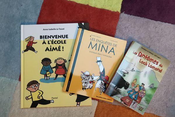 Les 3 livres jeunesse du jour