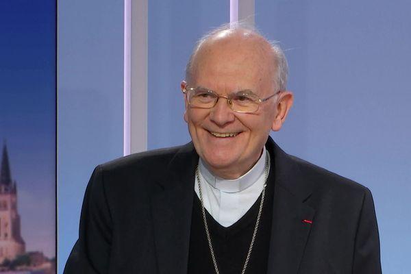 L'archevêque de Bordeaux, Jean-Paul James, veut délivrer un message d'espoir en ce Noël 2020 si particulier