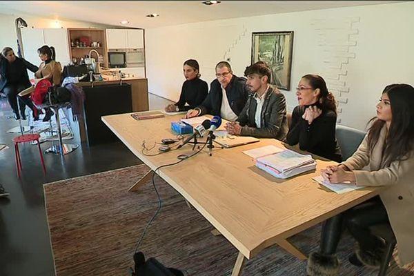 Une conférence de presse a été organisée jeudi à Roubaix.