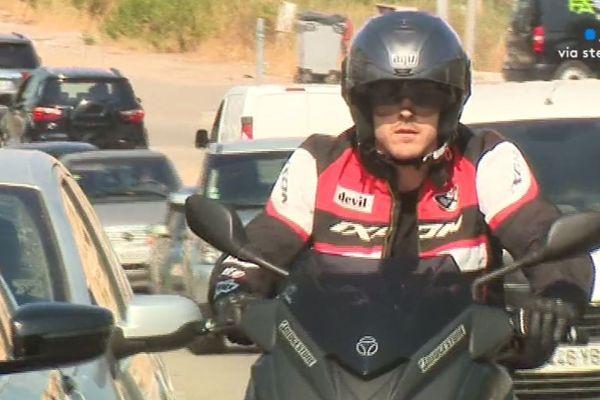Six motards ont perdu la vie dans des accidents en Corse-du-sud l'année dernière.