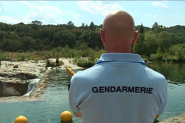 Mesures de sécurité et sanctions renforcées à l'été 2019 aux cascades du Sautadet (Gard)