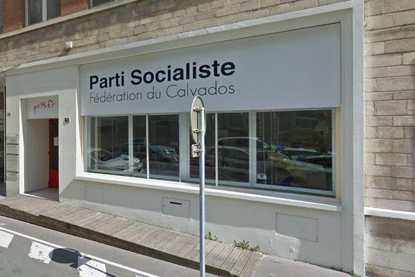 Le siège de la fédération du PS du Calvados à Caen