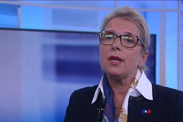 Patricia Chagnon, élue FN, intervient régulièrement sur la chaîne Russia Today pour commenter l'actualité