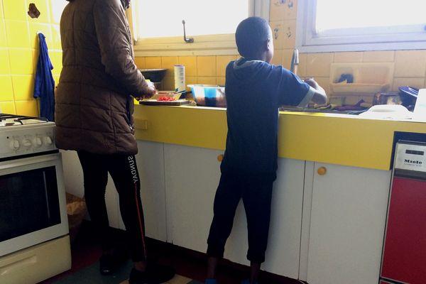 La maison des familles accueille 19 femmes et enfants à Nantes, photo prise le 7 mars 2019