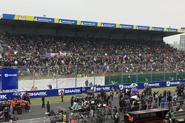 Le Grand Prix de France Moto sur le circuit du Bugatti au Mans, le 19 mai 2019