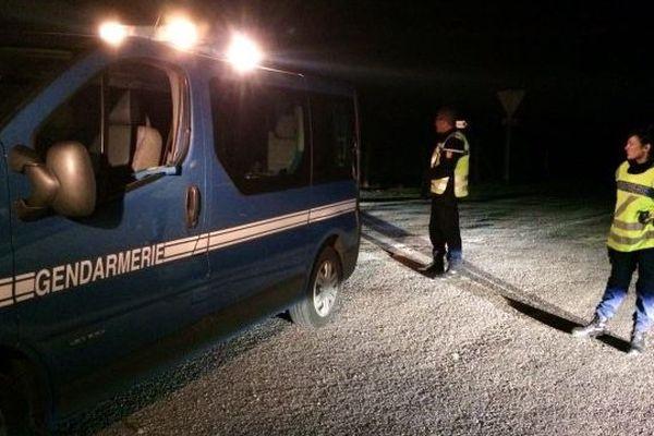 Les gendarmes étaient mobilisés autour du centre pénitentiaire d'Aiton, en Savoie.