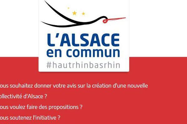 """Les Alsaciens sont invités à donner leur avis sur 10 propositions clés via la plateforme web """" Expression Citoyenne pour l'Alsace """"."""