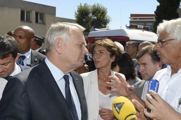 Jean-Marc Ayrault le 20 août 2013 à Marseille -photo Boris Horvat - Afp
