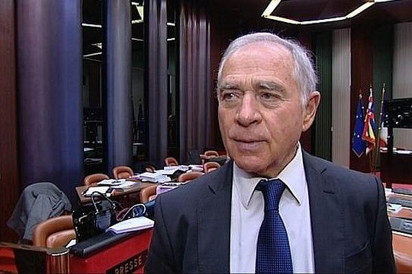 François Patriat, sénateur et président PS de la région Bourgogne  (archives)