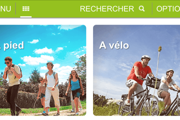L'appli Loiret balades au cœur  du Loiret