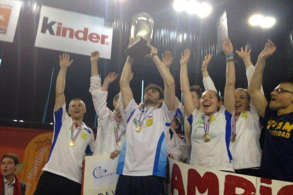 Chambly champion de France de Badminton