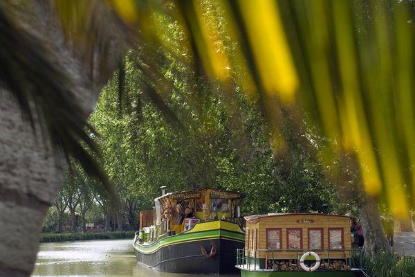Le Somail, Canal du Midi (Aude)