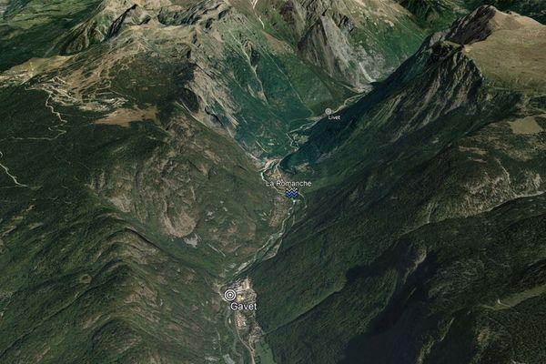 La Romanche, entre Livet et Gavet en Isère