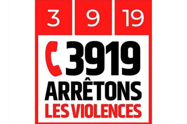 Le 3919 est un numéro gratuit pour les femmes victimes de violence.