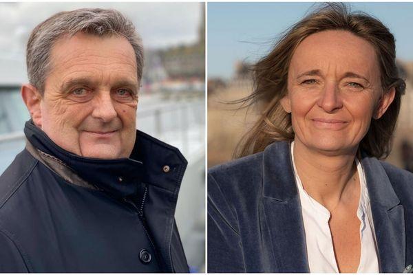 Gilles Lurton face à Anne Le Gagne pour le débat du 2e tour des Municipales de Saint-Malo