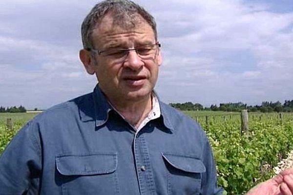 Michel Bataille - président de la cave coopérative de Foncalieu - 2012.
