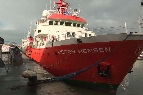 La Plastic Odyssey toujours à quai à Boulogne-sur-Mer en attendant des travaux de désamiantage