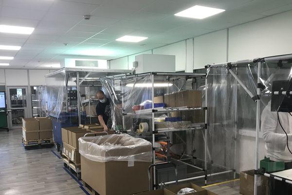 Schneider Electric à Chasseneuil-du-Poitou fabrique des pièces de respirateurs pour les hôpitaux