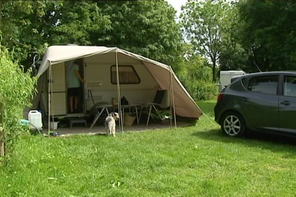 Le camping Besançon-Chalezeule a accueilli ses premiers campeurs dès sa réouverture le 15 juin.