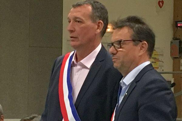 Vérargues (Hérault) - élection du maire de Saint-Christol comme maire de la nouvelle commune fusionnée d'Entre-Vignes - 14 janvier 2019.
