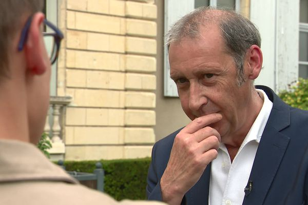 Fabien Bazin, futur président du conseil départemental de la Nièvre ce lundi 28 juin.