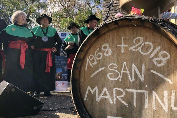 Patrimonio (Haute-Corse) célèbre Saint Martin et 50 ans d'appellation